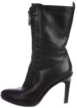 Bottega Veneta Leather Mid-Calf Boots