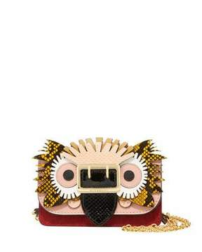 Burberry Mini Phone Crossbody Bag with Exotic Animal Applique - MULTI PATTERN - STYLE