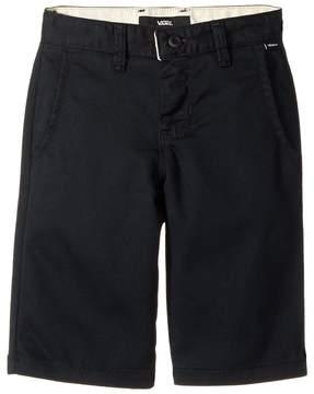 Vans Kids Authentic Stretch Shorts (Little Kids/Big Kids)