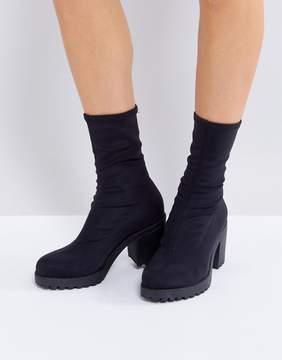 Vagabond Grace Black Sock Boots