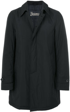 Herno concealed fastening lightweight coat