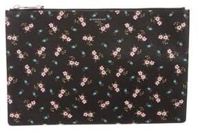 Givenchy Medium Floral Print Clutch
