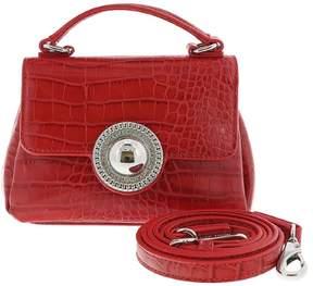 Versace EE1VRBBO7 Red Crossbody Bag