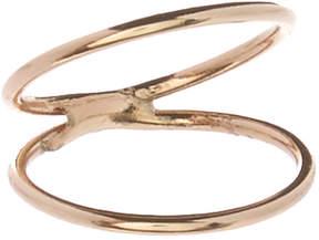 Carole Goldtone Midi Ring