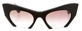 Miu Miu Semi Rimless Sunglasses