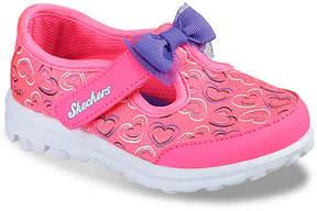 Skechers Girls Go Walk Flutter Fabulous Infant & Toddler Sneaker