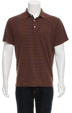 Patagonia Striped Button-Up Polo