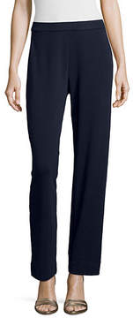Joan Vass Interlock Full-Length Jog Pants