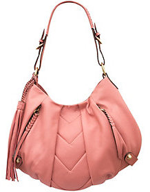 As Is orYANY Smooth Leather Hobo - Lucia