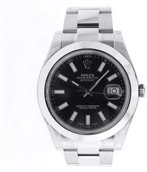 Rolex 116300 Datejust II Oyster Perpetual Black Index Wrist Mens Watch