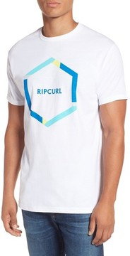 Rip Curl Men's Beacons Heather Logo Graphic T-Shirt