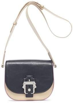 Paula Cademartori Color-Block Leather Shoulder Bag