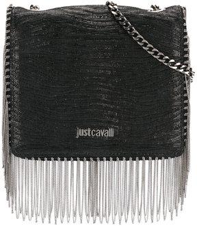 Just Cavalli fringed crossbody bag