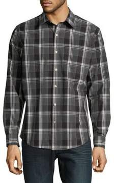Dockers Premium Edition Laundered Poplin Button-Down Shirt
