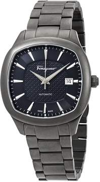 Salvatore Ferragamo Time Blue-Grey Dial Automatic Men's Watch