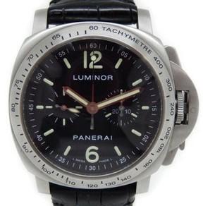 Panerai Luminor PAM00215 Stainless Steel Lemania 40mm Mens Watch