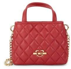 Love Moschino Diamond Quilted Mini Satchel