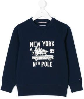 Tommy Hilfiger Junior central chest print sweatshirt