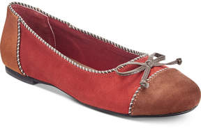 Rialto Sailor Ballet Flats Women's Shoes