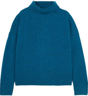 Vanessa Bruno Henriqua Wool-blend Turtleneck Sweater - Blue