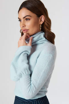 NA-KD Na Kd Cold Shoulder Knitted Sweater
