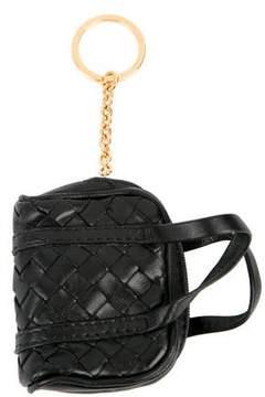 Bottega Veneta Intrecciato Handbag Keychain