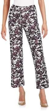 Giamba Women's Brocade Flared Trousers