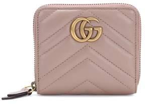 Gucci GG Marmont matelassé leather wallet - NEUTRALS - STYLE