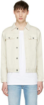 Robert Geller Off-White Denim Jacket