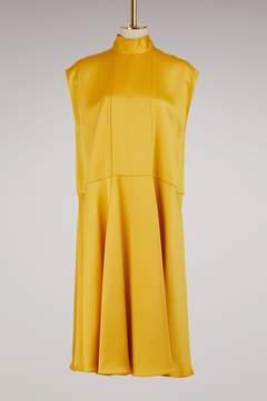 Valentino Sleeveless satin dress