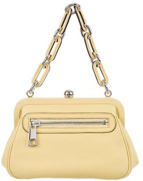 Marc Jacobs Leather Frame Bag - YELLOW - STYLE