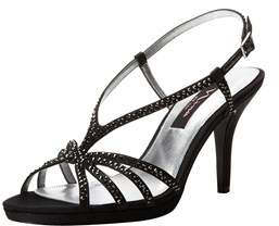 Nina Womens Bobbie Open Toe Special Occasion Ankle Strap Sandals.