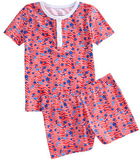 Vineyard Vines Girls Whales & Waves Lounge Set