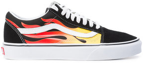 Vans fire streak lace-up sneakers