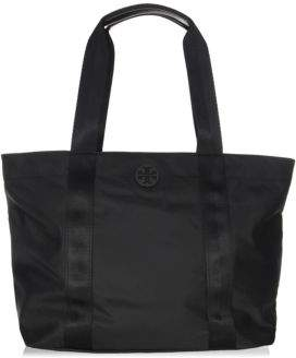 Tory Burch Quinn Large Zip Tote - BLACK - STYLE
