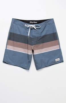 rhythm Julian Striped 17 Boardshorts