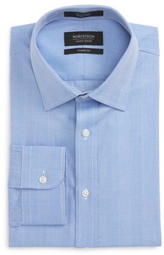 Nordstrom Men's Classic Fit Herringbone Dress Shirt