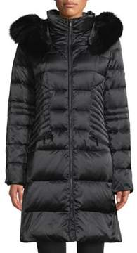 1 Madison Hooded Puffer Down Coats