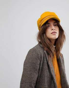 Brixton Baker Boy Hat in Mustard