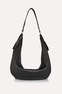 The Row The Sling Leather Shoulder Bag - Black