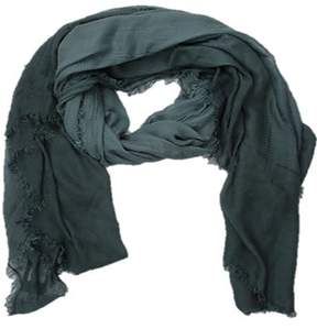 La Fiorentina Women's Italian Ombre Modal Scarf With Frayed Edges.