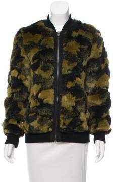 Dolce Vita Faux Fur Zip-Up Jacket