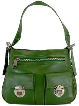 Marc Jacobs Green Leather Purse - GREEN - STYLE