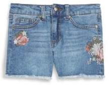Joe's Jeans Girl's High-Rise Stretch Denim Shorts