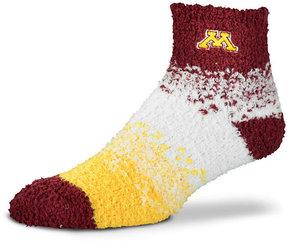 For Bare Feet Minnesota Golden Gophers Marquee Sleep Soft Socks