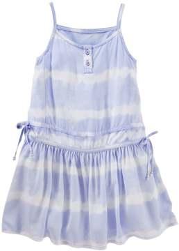 Osh Kosh Toddler Girl Tie-Dye Drop-Waist Dress
