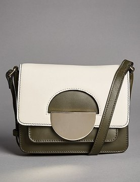 Marks and Spencer Leather Dolly Mini Cross Body Bag