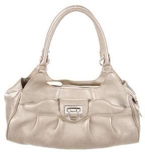 Salvatore Ferragamo Grained Leather Bag