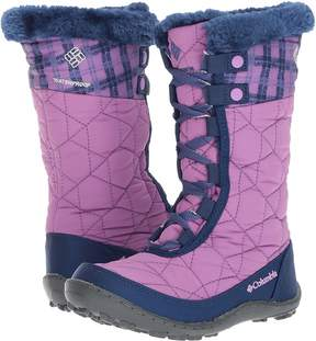 Columbia Kids - Minxtm Mid II Waterproof Omni-Heattm Print Boot Girls Shoes