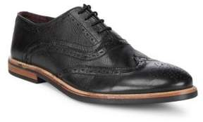 Ben Sherman Full Brogue Leather Oxfords